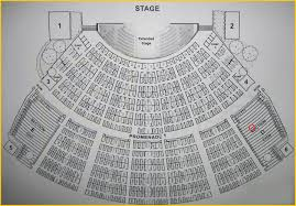 Hollywood Tinley Park Seating Chart Seat Number Hollywood Bowl Seating Chart Cmac Seating Chart