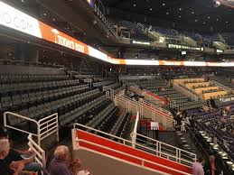 Phoenix Suns Seating Guide Talking Stick Resort Arena Us