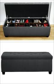 diy upholstered storage bench gorgeous ottoman shoe storage best ideas about ottoman storage on ottoman shoe
