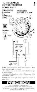 defrost timer diagram image wiring 6145 precision defrost timer wiring diagram 6145 auto wiring on 8045 20 defrost timer diagram