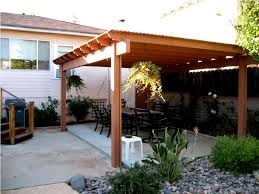 Diy Free Standing Patio Cover Plans Home Design Gallery Ideas