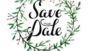 Christmas Party Save The Date Templates Save The Date Holiday Party Template Woodnartstudio Co