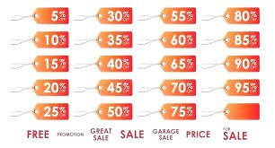Printable Price Labels Yard Sale Tag Template Garage Sticker ...