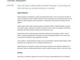 Orthodontist Working Conditions Design Orthodontic Assistant Resume