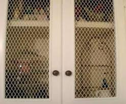decorative wire mesh cabinet doors por full size of cabinets inserts