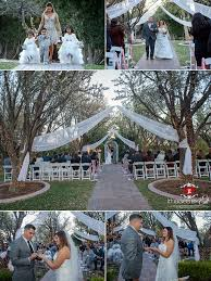 las vegas garden wedding at the grove