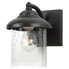 sea gull lighting lambert hill collection 1 light small outdoor oxford bronze wall lantern