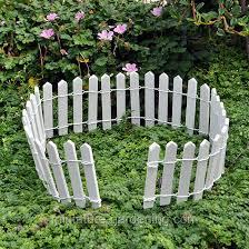 short picket fence for gardens miniature gardening white wood regarding designs 10