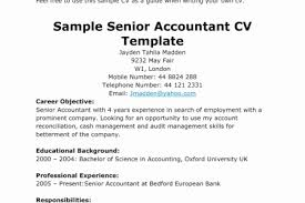 Senior Accountant Resume Objective 4k Pictures 4k Pictures Full