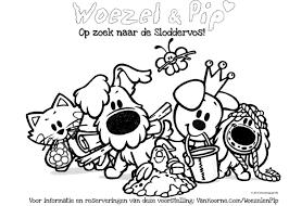 25 Idee Kleurplaat Sinterklaas Woezel En Pip Mandala Kleurplaat