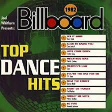Billboard Disco Charts Billboard Top Dance Hits 1982
