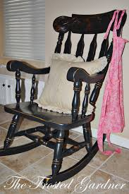 refinish rocking chair. Modren Rocking We Found A Beautiful Chunky Chair With Some Great Details At The Top In Refinish Rocking Chair E