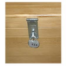 silver tone hasp staple combination padlock