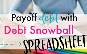 Free Debt Snowball Spreadsheet To Help Knock Out Your Debt Lw Vogue