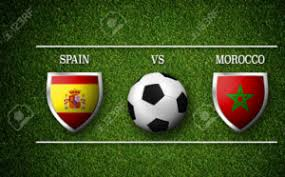 Spain vs Morocco world cup 2018