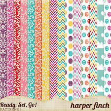 Patterned Custom Ready Set Go Series Patterned Papers 48 By Harperfinch On DeviantArt