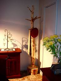 Log Coat Racks rustic coat and hat stand the perfect rustic furniture accessory 68