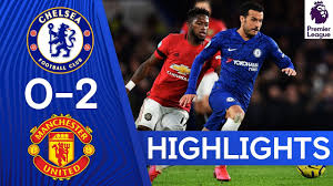 Chelsea 0-2 Manchester United | Premier League Highlights - YouTube