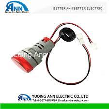 22mm Indicator Lights Hot Item Ad22 Series 22mm Led Digital Ammeter Indicator Light Ad22 22dsa