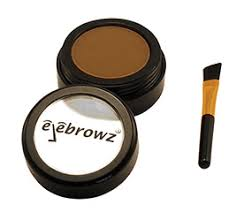 eyebrow shadow. and afterwards if your eyebrow shade looks too different from hair, you can use little bit brown shadow. shadow