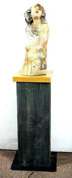Sculpture Stands To Display Art Best Art Display Pedestal Ceramic Sculpture Mike On Art Pedestal Stands