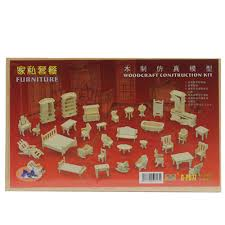 mini furniture sets. 34pcs Hot Jual DIY Mini / Set Anak Sekolah Dollhouse Furniture 3d Woodcraft Puzzle Hadiah Model Sets