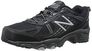 new balance trail running shoes. new balance men\u0027s mt410bs4 trail shoe, black/silver, running shoes l