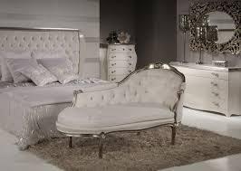 white italian furniture. White \u0026 Silver Chaise-Longue Italian Furniture