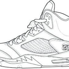 Neoteric Design Inspiration Air Jordan Coloring Pages Book Shoe