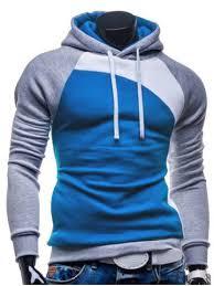 <b>IZZUMI</b> Paneled Raglan Sleeve Drawstring Hoodie - Grey And ...