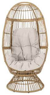 berkshire outdoor wicker swivel egg