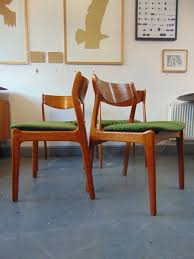 vine danish teak seat of four dining chairs by p e jorgensen for farso stolefabrik 1960 s retro redin very good vine condition by