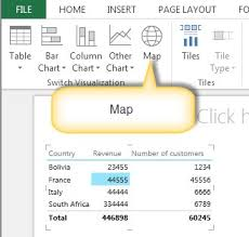 Add Map Chart To Excel 2016 How To Work With Maps In Excel 2013 Step By Step Tutorial