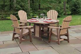outdoor poly lumber furniture amish