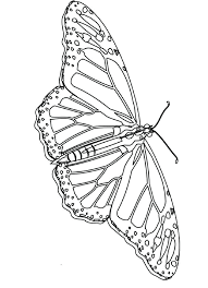 This Is Monarch Butterfly Coloring Page Images Monarch Butterfly ...