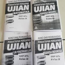 40 contoh soal pidato pilihan ganda beserta jawaban kelas 9. Jual Kumpulan Soal Smp Buku Kunci Jawaban Pemantapan Persiapan Ujian Smp Jakarta Timur Radithutasoit Tokopedia