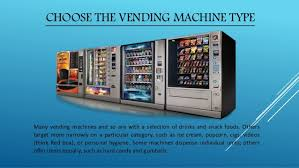 How To Make Money From Vending Machines