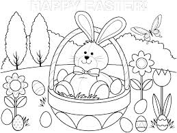 Cute Bunny Pictures To Color T7798 Bunny Rabbit Coloring Page