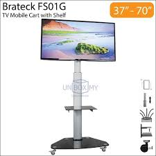 Bra Display Stand Brateck FS100G 100100 inch Height Adj end 1001000021008 1005100 AM 99