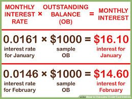 Estimate Credit Card Interest 5 Easy Ways To Calculate Credit Card Interest Wikihow