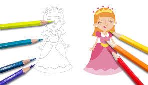Disegni Per Bambini Da Colorare Principesse