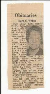 Fern Lillian Curtis (1901–1974) | Person | Family Tree | FamilySearch |  Family history, Genealogy records, Free family tree