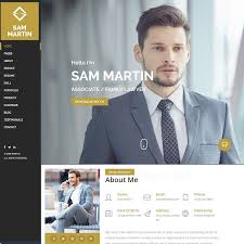 Resume-Wordpress Website Theme Templates