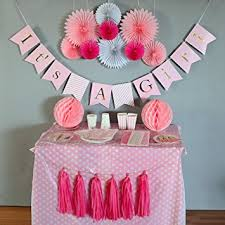 Girl Baby Shower Themes  Baby Shower Party Ideas For Baby Girl Baby Shower For Girls Decorations