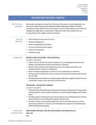 Resume Examples Volunteer Work Best Of Resume Examples Volunteer