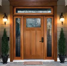 Wood Front Entry Doors With Sidelights | Home design ideas