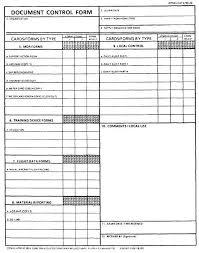 form document document control form dcf opnav 4790 45