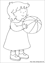 Caillou Coloring Page Caillou Coloring Pages On Coloring Book