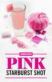 Best Pink starburst shot ideas on Pinterest
