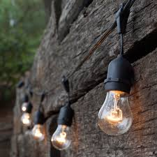 outdoor strand lighting. Newhouse Lighting Outdoor Weatherproof Commercial Grade String Strand D